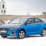 Размеры кузова Hyundai Solaris — Таблицы размеров