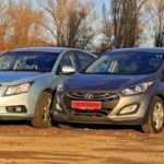 Какой автомобиль лучше: Chevrolet Cruze или Hyundai Solaris