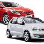 Сравнение Фольксваген Поло и Хендай Солярис на сайте дилера VW