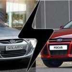 Сравнение Форд Фокус и Хендай Солярис